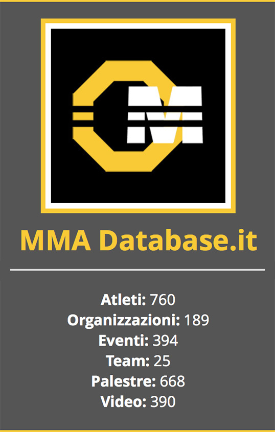 MMA Database.it