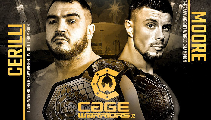 Cerilli vs. Moore - Cage Warriors 92
