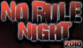 """Risultati serata """"No Rule Night"""""""
