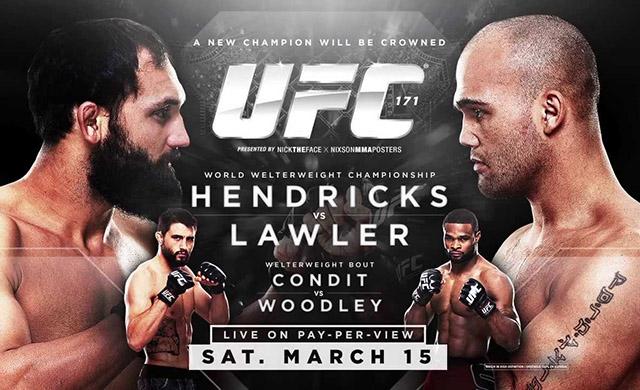"UFC 171 ""Hendricks vs. Lawler"": Risultati rapidi  UFC 171 ""H..."