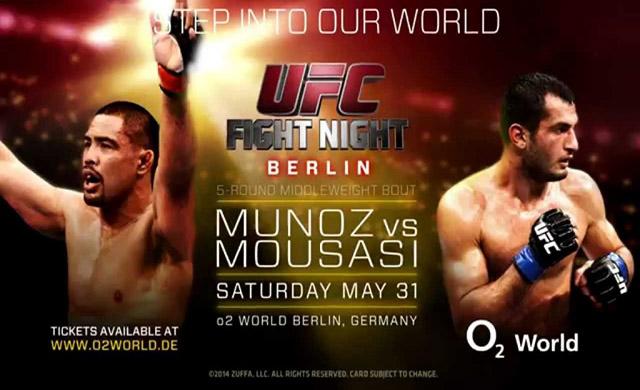 UFC Fight Night: Munoz vs. Mousasi