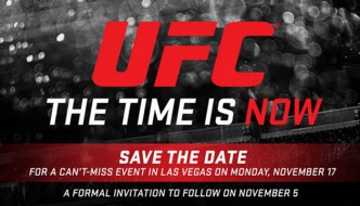 UFC: Time is Now