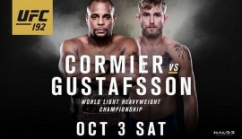 UFC 192: Cormier vs. Gustafsson, analisi e pronostici