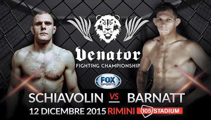 Venator FC 2: Schiavolin vs. Barnatt