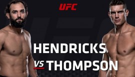 "UFC Fight Night 82 ""Hendricks vs. Thompson"": Risultati rapidi"