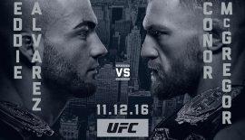 UFC 205: Ufficializzato Conor McGregor vs. Eddie Alvarez