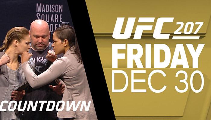 UFC 207 countdown