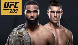 """UFC 209 """"Woodley vs. Thompson 2"""" domani a Las Vegas"""