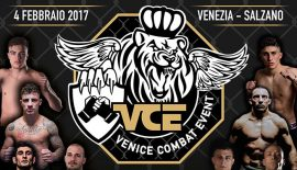 VCE – Venice Combat Event domani a Salzano (VE)