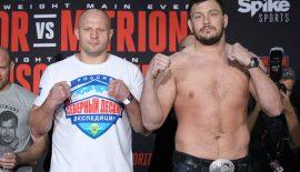 Bellator 180: Ufficiale Fedor Emelianenko vs. Matt Mitrione