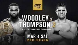 "UFC 209 ""Woodley vs. Thompson 2"": Risultati rapidi"