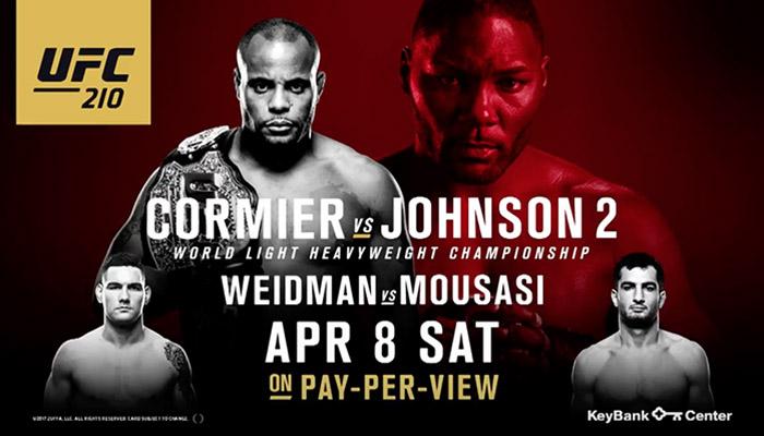 UFC 210 - Countdown