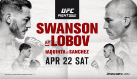 "UFC Fight Night 108 ""Swanson vs. Lobov"": Risultati rapidi"