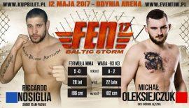 Riccardo Nosiglia vs. Michal Oleksiejczuk al FEN 17