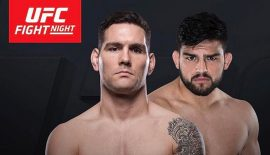 UFC on FOX 25: Chris Weidman vs. Kelvin Gastelum nel main event