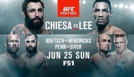 "UFN 112 ""Chiesa vs. Lee"" domani ad Oklahoma City"