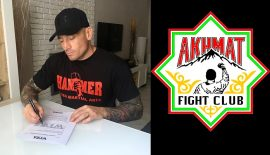 Evasio D'Onofrio firma con la promotion russa WFCA