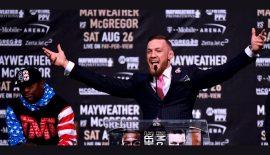 Conor McGregor vs. Floyd Mayweather: Prezzi ufficiali dei biglietti