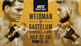 "UFC on FOX 25 ""Weidman vs. Gastelum"": Risultati rapidi"