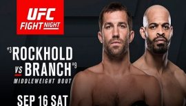 "UFN 116 ""Rockhold vs. Branch"" domani a Pittsburgh"