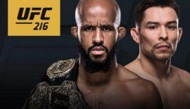 UFC 216: Demetrious Johnson vs. Ray Borg nel co-main event