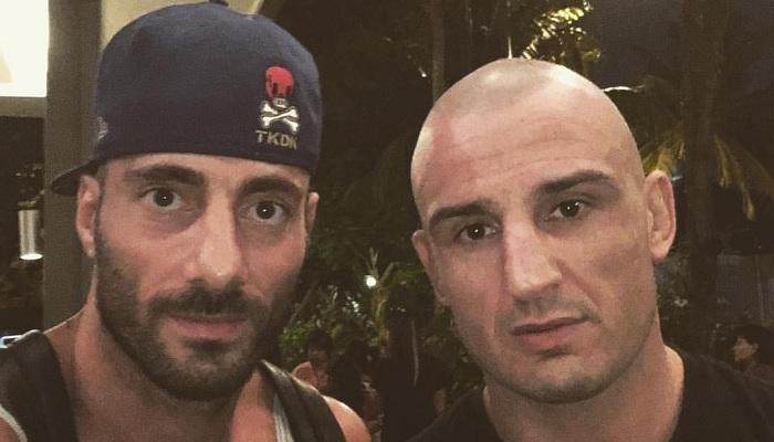 Marco Santi e Giovanni Melillo
