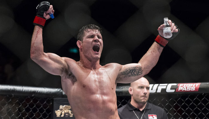 Michael Bisping crede che Georges St-Pierre combatterà così…