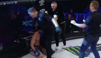 Conor McGregor: Clamoroso alterco con l'arbitro a Bellator 187!