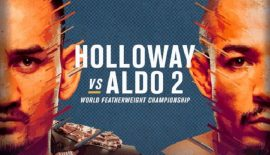 "UFC 218 ""Holloway vs. Aldo 2"" oggi a Detroit"
