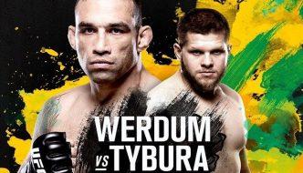 "UFN 121 ""Werdum vs. Tybura"" oggi a Sydney"
