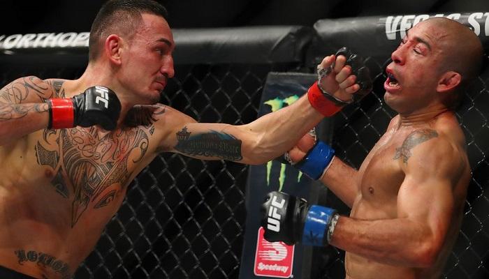 Max Holloway Jose Aldo UFC 218