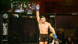 Luca Iovine per il titolo Cage Warriors