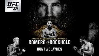 "UFC 221 ""Romero vs. Rockhold"" oggi a Perth"