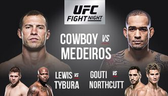 "UFC Fight Night 126 ""Cerrone vs. Medeiros"": Risultati rapidi"