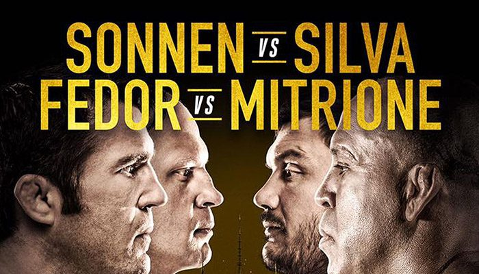 """Bellator 180 """"Sonnen vs. Silva"""": Risultati rapidi"""